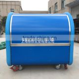 multi-function blue food truck food cart Glass fiber material body mobile food trucks