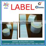 roll blank packing self adhesive label sticker made in China