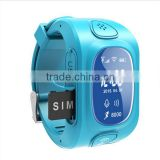 GPS tracker smart watch bluetooth 4.0 emergercy SOS triggered monitor Y3 kids smart watch