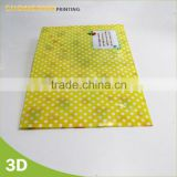 2015 A4 size classified file folder stationery PP Plastic L shape folder with full color UV printing                                                                         Quality Choice