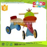 2015 New Brand Fancy Design 4-Wheels Vehicle Toy Wood Kids Bike                                                                         Quality Choice