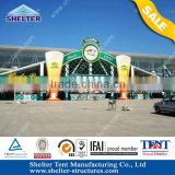 40m Oman hot style Firmly Aluminum structure gazebo tents for sale with weight plate cover for wedding banquet