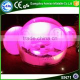 High quality inflatable dome tent bubble tent inflatable tent with rooms for party                                                                                                         Supplier's Choice