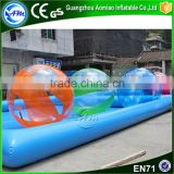 Hot selling funny giant water ball,inflatable water running ball