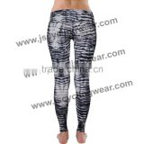 OEM Service Fashionable Colorful Print Leggings for Girls