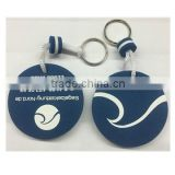eva floating keychains with nice blue color and your logo printed
