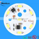 2016 china mcpcb 3/5/7/9/12/15/24W 220V High voltage IC board led module smd 5730 for bulb light,down light,ceiling light                                                                         Quality Choice