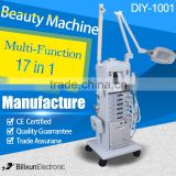 hotsale 17 in 1 multifunction diamond microdermabrasion skin care beauty equipment DIY-1001