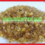 Glass amber chips