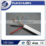 Siamese Cable Balun Cable UTP CAT5E+2C Power