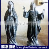 Man and woman marble statue