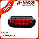 New Arrival Cheaper Price LEDS TRUCK SIDE LAMP , TRAILER LED MARKER LIGHTS 12V 24V 10-30V