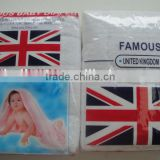 BD1061F Famous brand baby cloth 100%cotton sanitary washable pure white napkin diaper