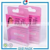 direct factory clear plastic box Printed Plastic Packaging Box with fly hook                                                                                                         Supplier's Choice