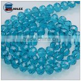 Chinese light Blue 8mm Cristal Rondelle Beads Wholesale cheap beads strand