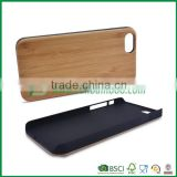 mobile phone wood case, bamboo case for cell phone