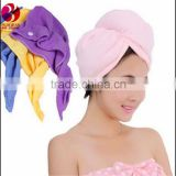 Absorbent Microfiber Hair Wrap Quick Dry Towel/ Bath Shower Head Cap Hat