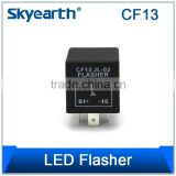 12V 3 PIN LED FLASHER RELAY UNIT FOR BLINKER/INDICATOR FLASH - POSITIVE ON LEFT