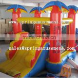 Coconut classical inflatable party jumper and slide combo castle SP-CM023