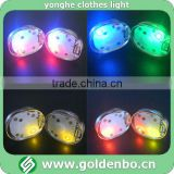 Apparel decoration flashing LED light T-shirt light
