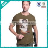 Summer newest printing crew neck short sleeve men special troops out-door casual wear tactical t shirts for military addictive