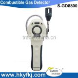 explosive combustible gas detector electronic gas meter sensor with adjustable sensitivity