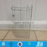 3 layer bathroom rack/Eco-friendly fashionable corner shower caddy from guangzhou                                                                         Quality Choice