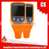 Only three menu ,most easy operate car paint coating thickness gauge tester meter with 3% accuary, 1300um