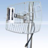 1920-2170MHz 13.5dBi CDMA/WCDMA/3G UV Coated Square Grid Parabolic Antenna