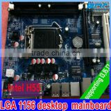 Supported DDR3 Memory and core I3 I5 I7 Processor Motherboard lga 1156 , fully tested working good