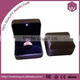 Unique LED ring boxes wholesale, gift box for jewelry ring led