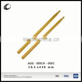 2015 high quality drumstick musical instrument drumstick wooden drumstick with logo printing drum set drumstick