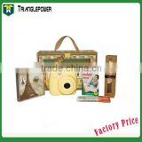 Professional Gift Package Yellow Fujifilm fuji Instax Mini 8 Instant Film Camera for Your Choice