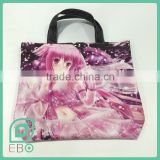 new products 2016 best selling custom printed Anime shopping bag non woven handbag shoulder bag                                                                                                         Supplier's Choice