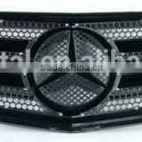 GI-W204C Mercedes W204 C-CLASS FRONT GRILL GRILLE C300 C350 2008-2014 metal black