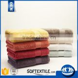 cotton stock yarn dyed terry towel