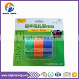 popular high quality back to back hook and loop cable tie, colorful back to back cable tie