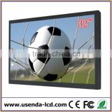32 inch lcd quad video monitor, wall monuted CCTV video monitor
