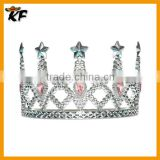 hot sale cheap noble Silver Prom King Crown