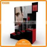 High quality men's skin care product display stand