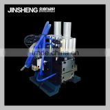 JS-315 semi-auto cable stripper machine/ scrap copper pneumatic wire stripping machine cable peeling equipment