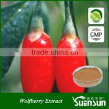 chinese ningxia goji berry polysaccharide wolfberry extract gmp factory