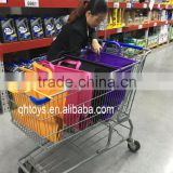 4 Multi Colored Trolley Bags Supermarket Grocery Trolley Bag Supermarket Shopping Cart Bag