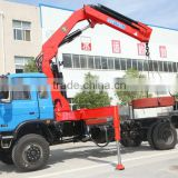 10ton knuckle boom Crane and Accessories,SQ200ZB4, hydraulic truck mounted crane.