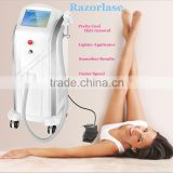 Face 808nm Diode Laser Hair Removal / 808nm Diode Unwanted Hair Laser Beauty Machine For Permanent Hair Removal Whole Body AC220V/110V