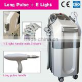 facial massager &super crystal skin care treatment E LIGHT&LONG PULSE TWO IN ONE MACHINE