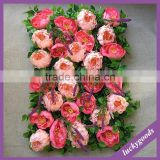 natural looking decorative peony fake flower wall wedding backdrop wholesale
