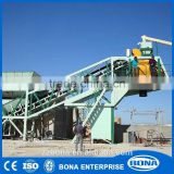 Wheel Type Easy To Operate Mobile Concrete Mixing Plant 35M3/H