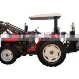 Tractor, lawn tractor 40HP, 4x4, DQ404 with 3 point hitch backhoe,farm tractor front end loaders