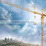 CS 2015 hot sale Max. lifting capacity 5t tower crane boom length 50m Zoomlion tower crane specification